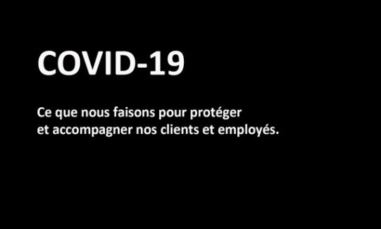 Mesure pour Covid-19